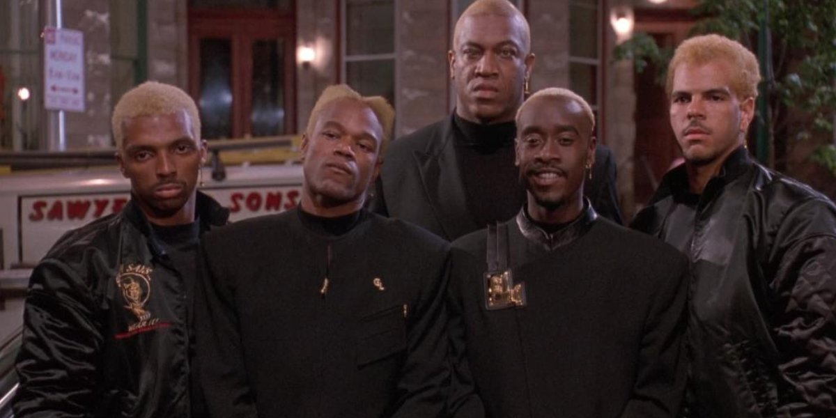 Don Cheadle and the Golden Lords in The Meteor Man