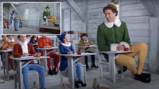 Elf on a shelf! How they shot the classic Christmas movie using forced perspective