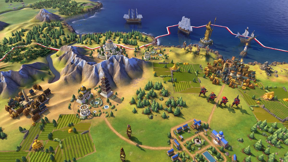 Civilization 6 Mod Adds Giant Earth Map Pc Gamer