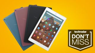 Amazon S Fire Hd 10 Is Nearly Half Price Right Now If You Re After A Cheap Tablet Techradar