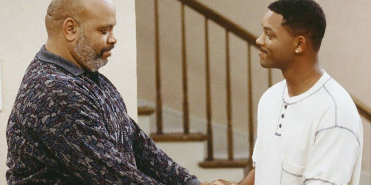 James Avery and Will Smith on The Fresh Prince of Bel-Air (1995)