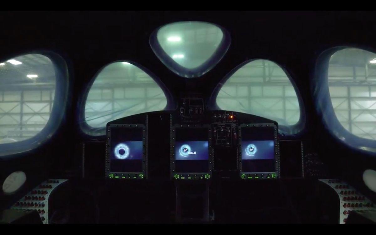 Virgin Galactic Powers Up New SpaceShipTwo Vehicle (Video)