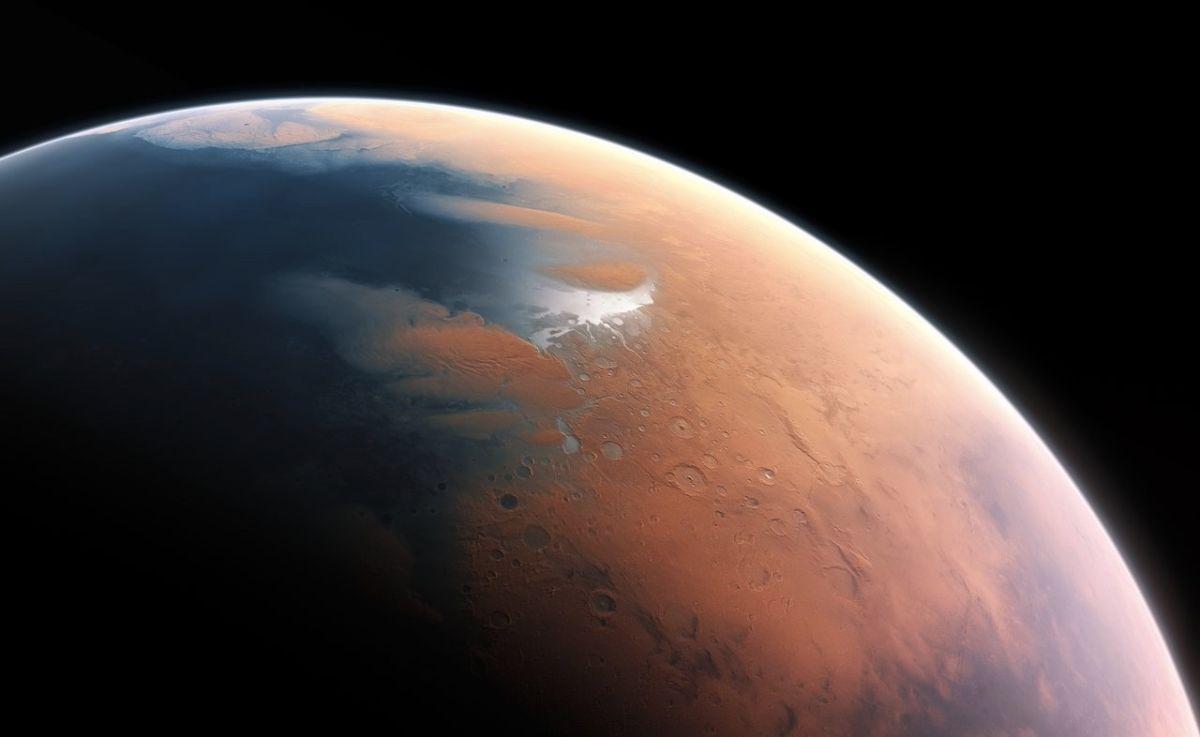 Martian Meteor Collision May Have Triggered a 1,000-Foot Tsunami