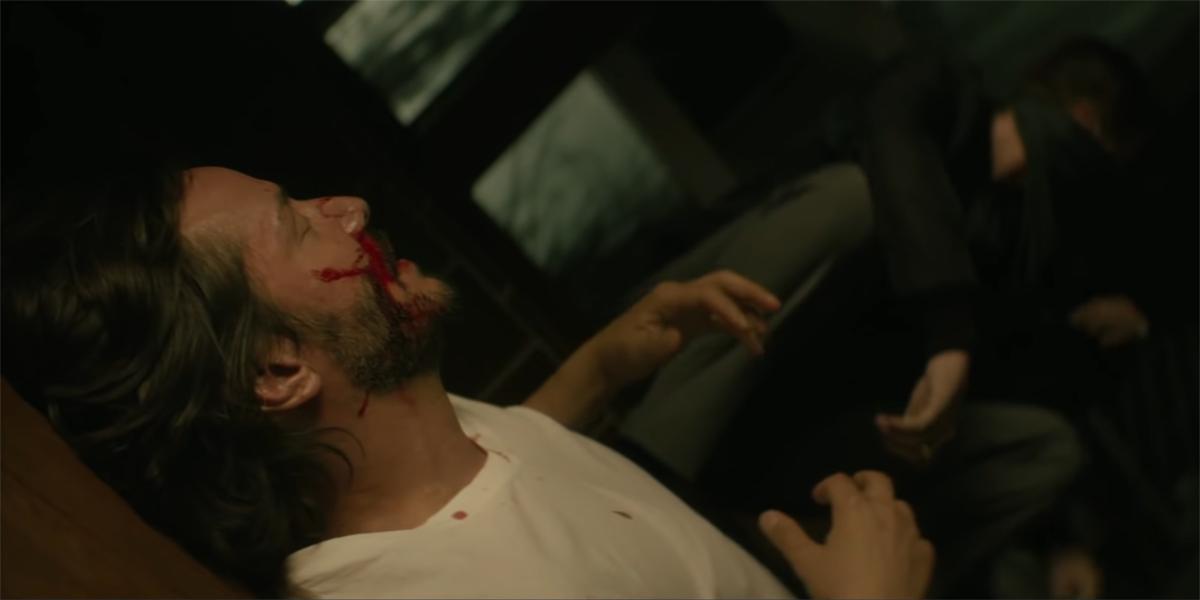 John Wick robbery scene