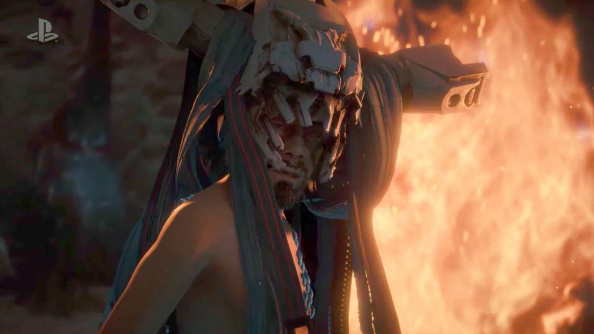 Horizon: Zero Dawn The Frozen Wilds DLC looks set to be treacherous - perhaps with a new foe waiting in the smoke