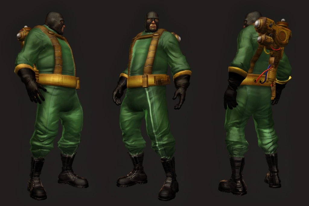 Cancelled The Flash Game Character Models, Screenshots #5815