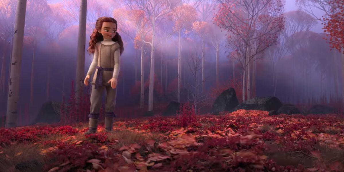 Mystery character in Frozen II trailer