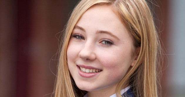 Ruby O'Donnell plays Peri Lomax in Hollyoaks