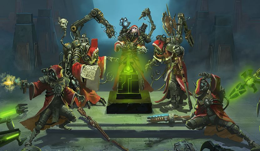 Mechanicus is Warhammer: 40,000 meets XCOM but with unique ideas of its own