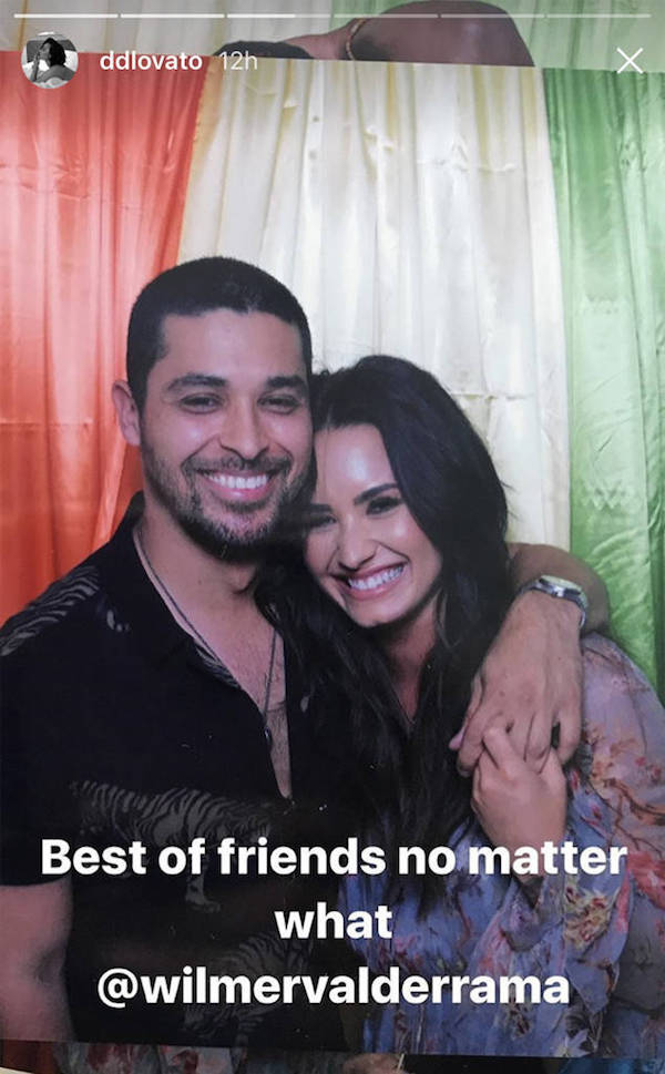Demi Lovato and Wilmer Valderrama reunited 1