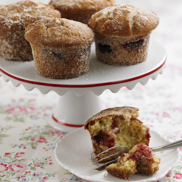 Jam Doughnut Muffins recipe-Muffin recipes-recipe ideas-new recipes-woman and home