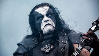 Abbath on stage