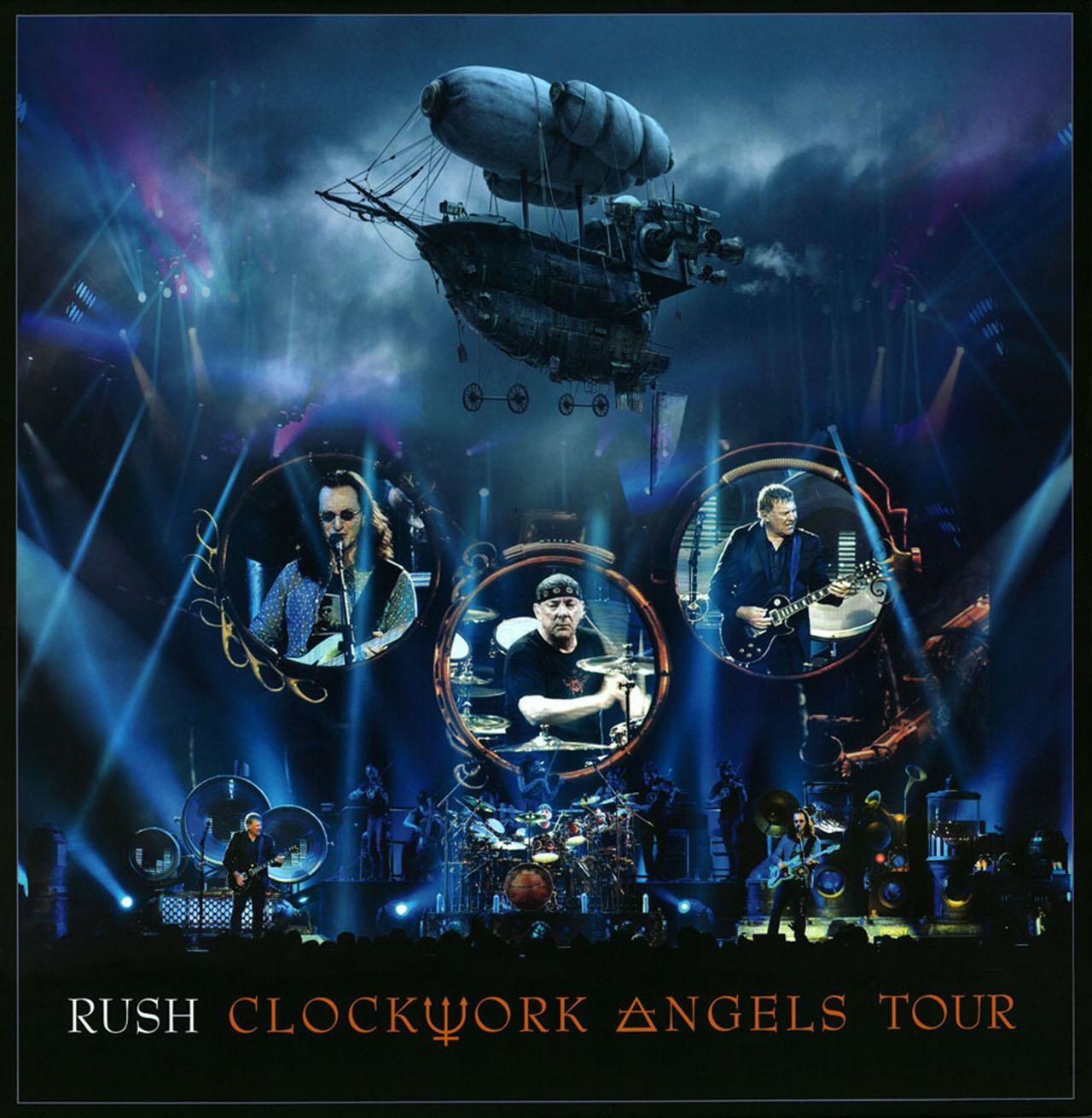 Rush's Clockwork Angels Tour set for 5LP vinyl set | Louder