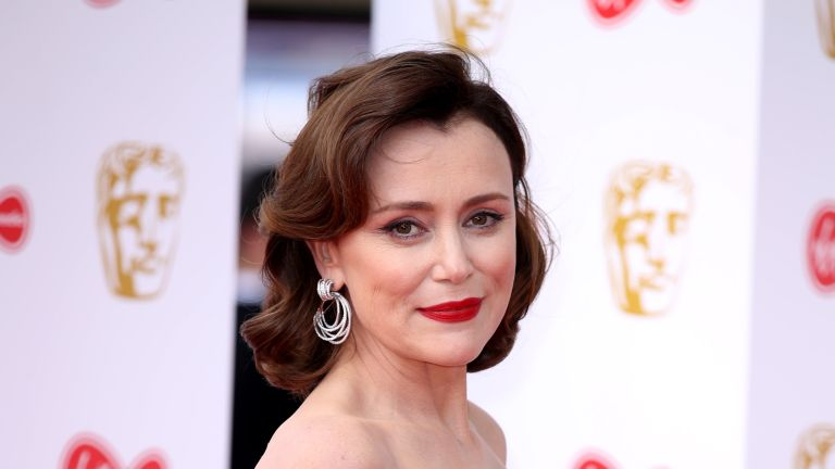Keeley Hawes attends the Virgin Media British Academy Television Awards 2019 at The Royal Festival Hall on May 12, 2019 in London, England