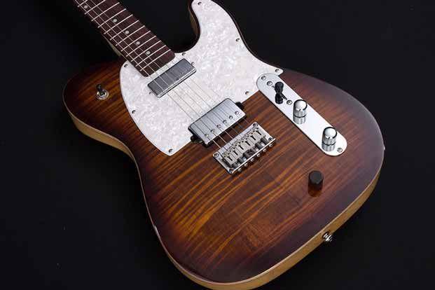 review michael kelly guitars hybrid 55 guitarworld. Black Bedroom Furniture Sets. Home Design Ideas