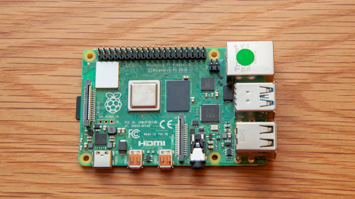 Raspberry Pi 4 Offers 3X the Power, 4K Output and USB 3 for