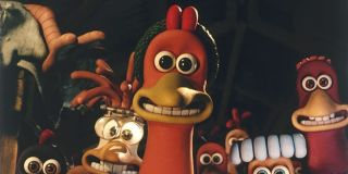 Chicken Run's chickens smiling