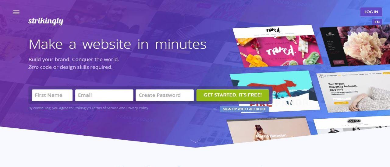 Strikingly website builder review | TechRadar