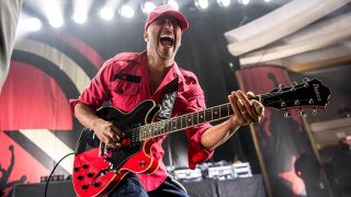 Tom Morello performing live with Prophets Of Rage