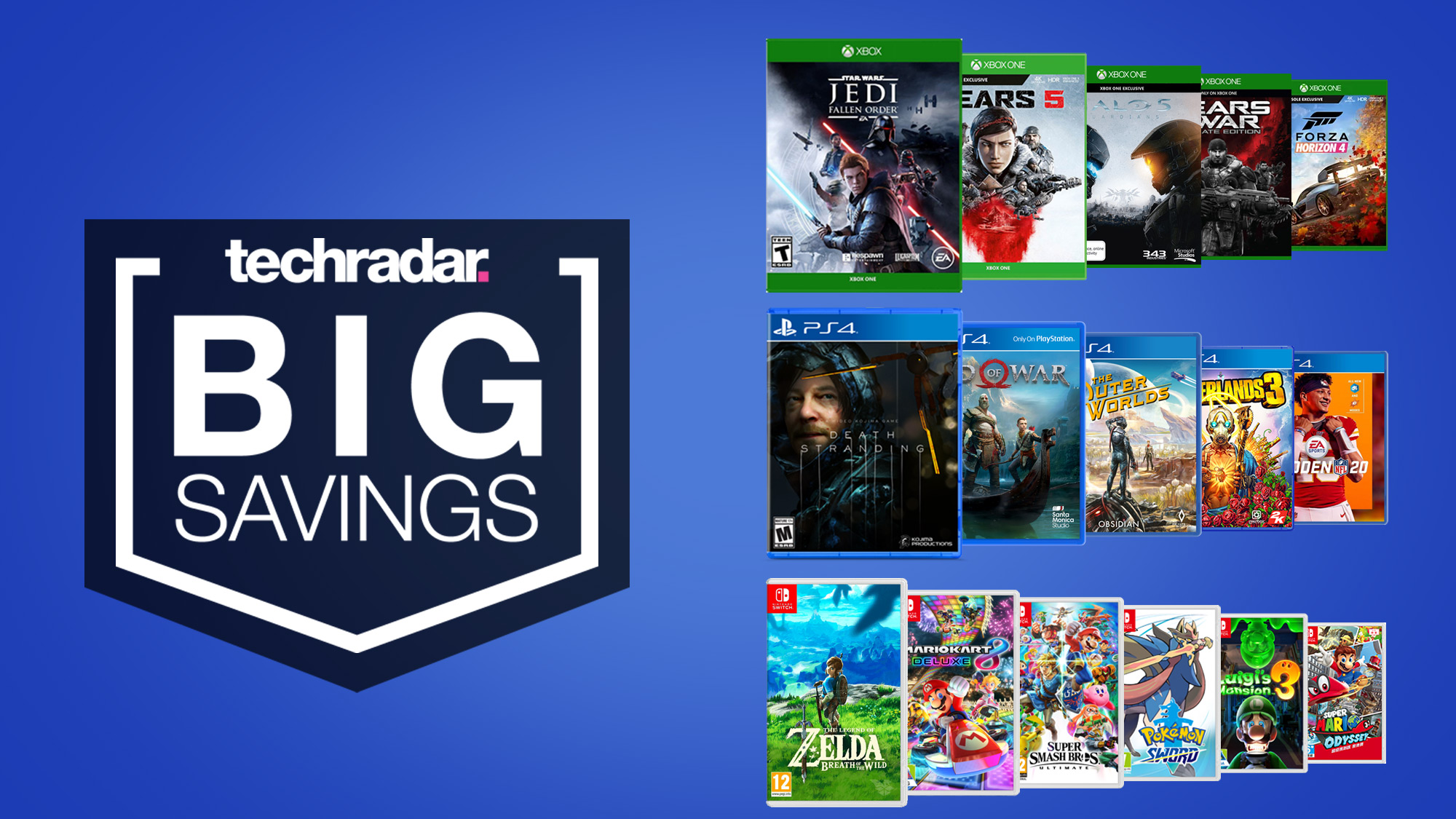 Cheap game deals: the best Nintendo Switch, PS4, and Xbox One game sales in  August 2020   TechRadar