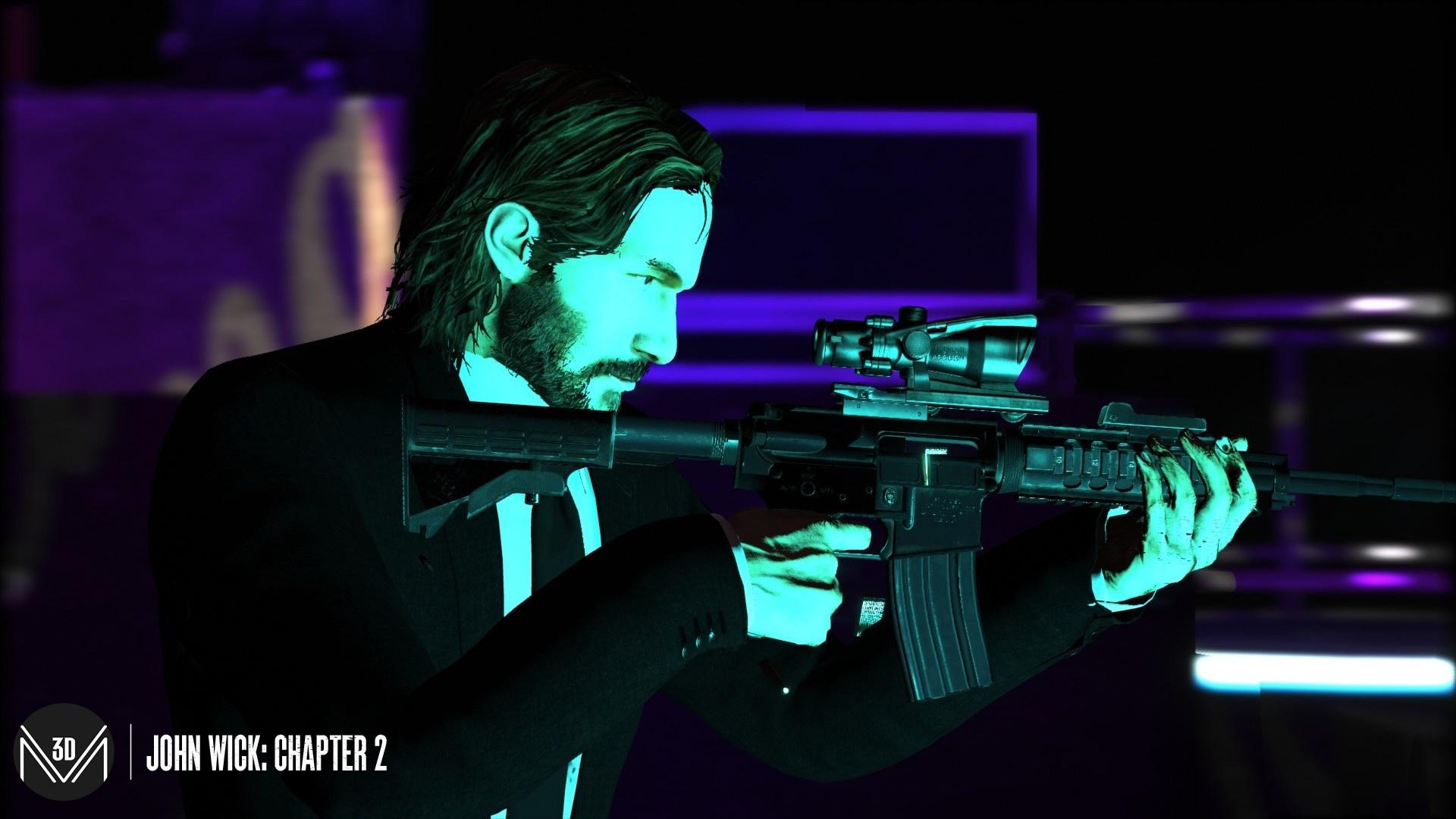 GTA 5 mods: John Wick