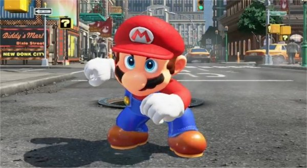 mario in Super Mario Odyssey Nintendo Switch