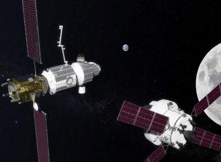 Deep Space Gateway art