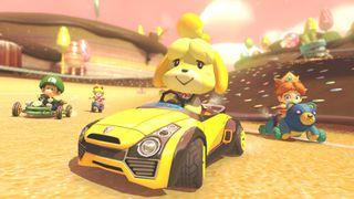 Mario Kart 8 Deluxe Isabelle