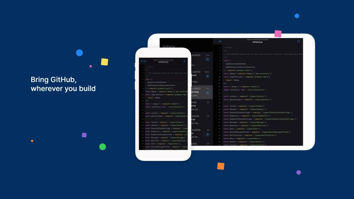 GitHub launches Android and iOS apps