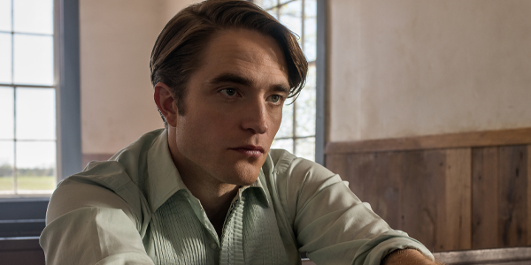 Robert Pattinson in The Devil All The Time (Netflix)