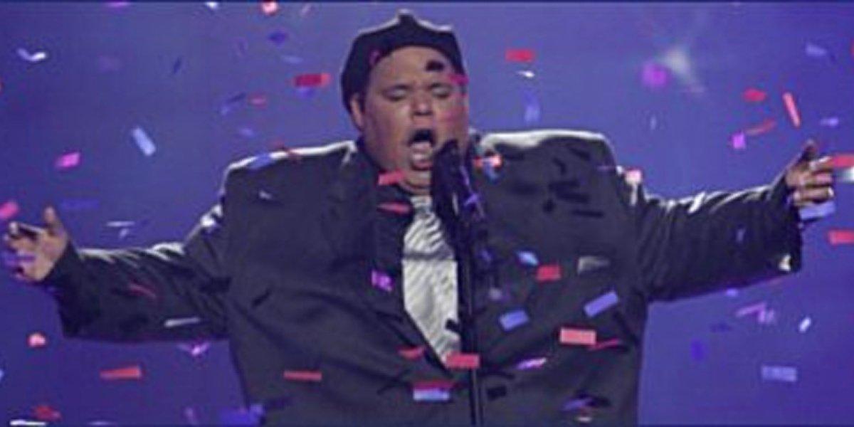 Neal E. Boyd during America's Got Talent.