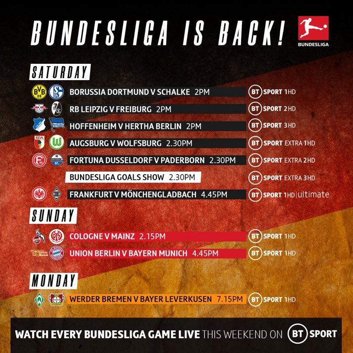 watch Bundesliga UK