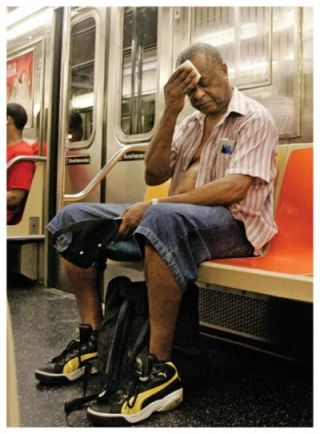 NYC Subway Heat Wave