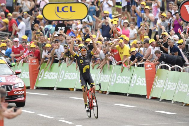 Lilian Calmejane takes breakaway victory on fast and hectic Tour de France  stage eight bc8934572