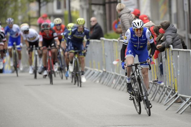 Dan Martin attacks at Liege-Bastogne-Liege