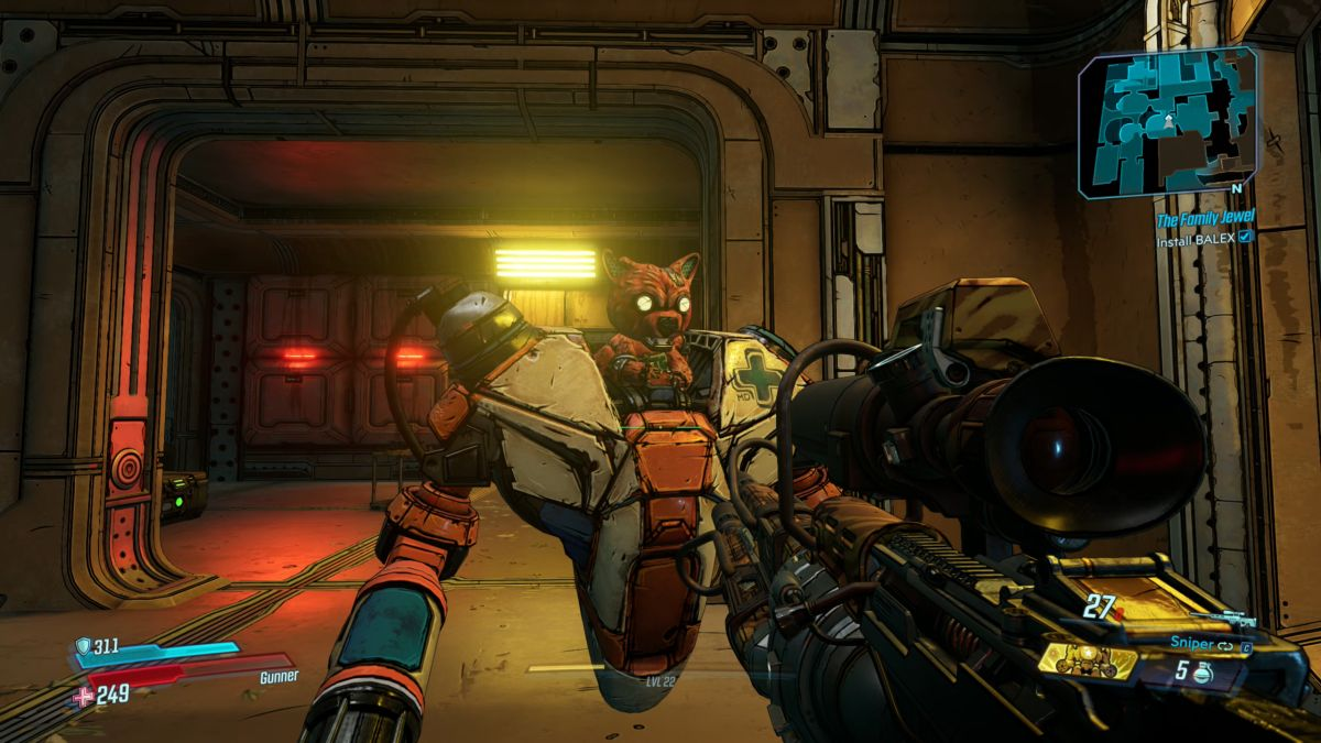 Ice-T voices a character in Borderlands 3