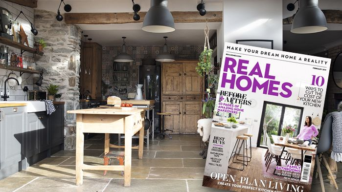 Real Homes magazine Feb 2019 cover