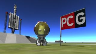 Kerbal Space Program chronicle — part two: the first Kerbal in space