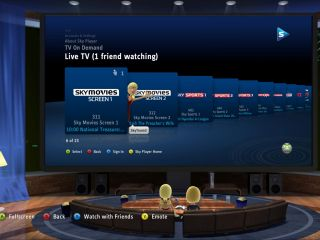 Xbox bringing social features to Sky Player
