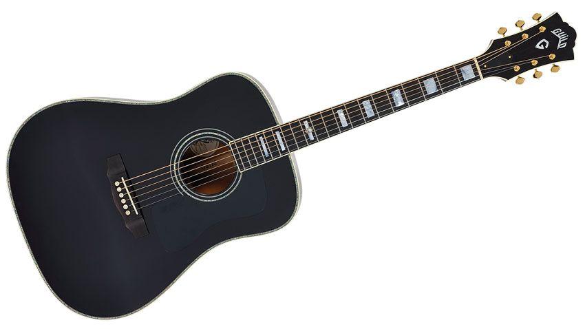 guitare noir et doré Pin/'s FENDER