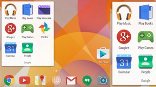 new Android app icons