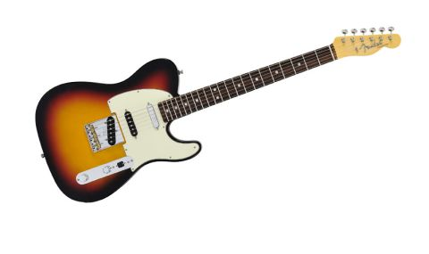 This is a 1960s-inspired Tele with a third pickup and S-1 switching