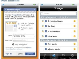 Vonage lets you call your Facebook 'friends' for free on iPhone, iPad, iPod touch and Android devices