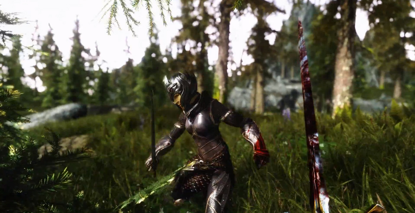 watch this skyrim with realvision enb v1 3 tweaks and max