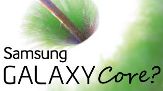 Low end Samsung Galaxy Core looks like Galaxy S4 knock off