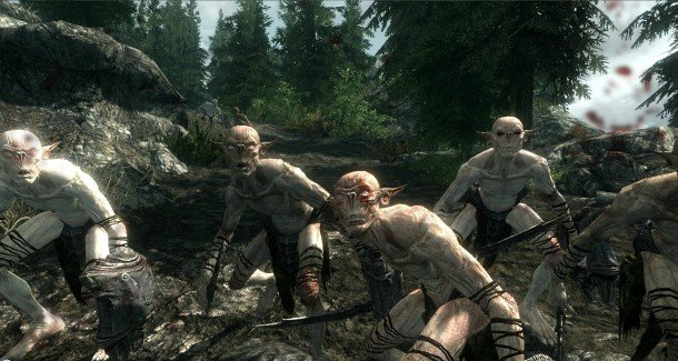 the best skyrim mods: automatic variants