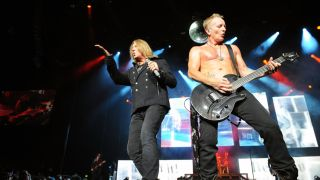 Def Leppard s new live DVD marks a quarter of a decade since the release of Hysteria