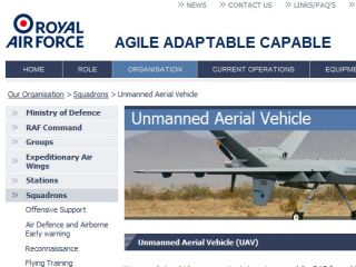 RAF criticised for slow uptake of drones