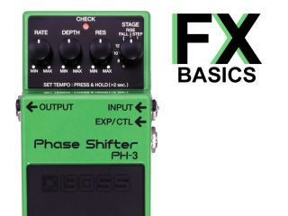 Boss's phaser pedal: the PH-3 Phase Shifter