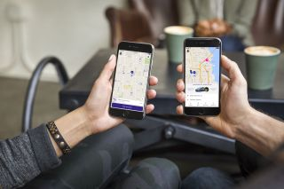Lyft iPhone app